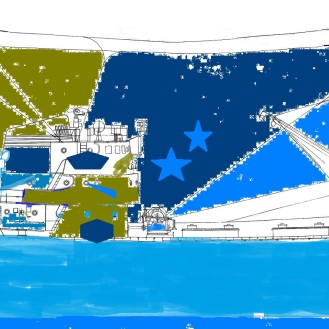 Titanic (by Elliott, aged 4)
