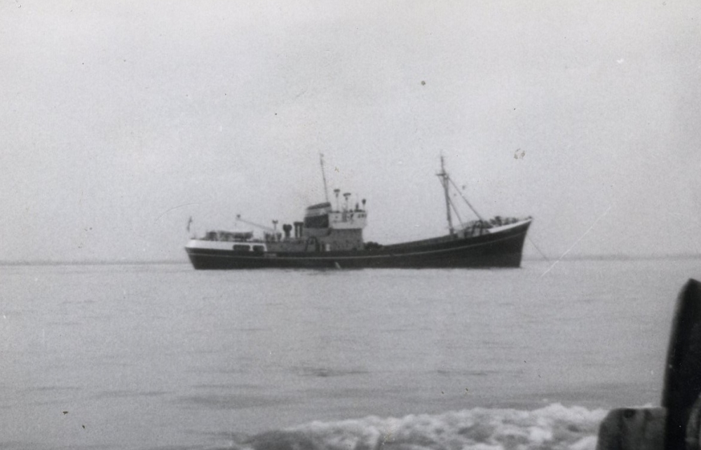 Arctic Corsair on its sea trials in 1960 (image courtesy of John Wilkinson)