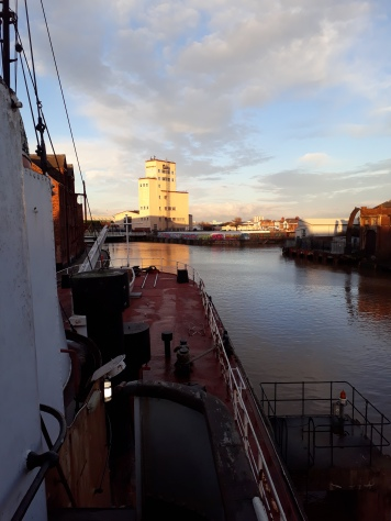 Looking towards the stern (Arctic Corsair) courtesy Theresa Longbone