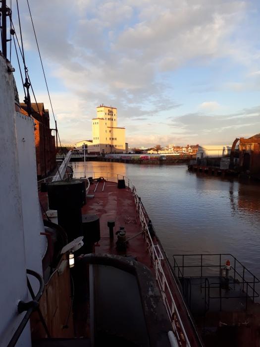 Looking towards the stern (Arctic Corsair) courtesy Theresa Longbone