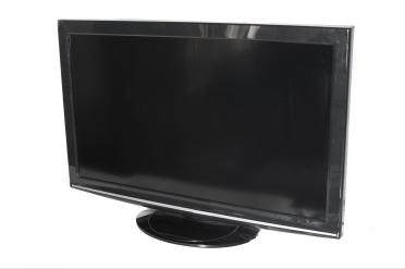 Flat panel television set
